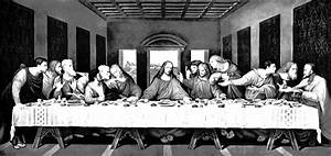 View of Last Supper Restored - Bing images