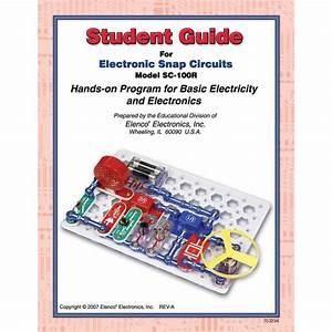 Snap Circuits Teachers Guide 100r  300r  500r  750rl
