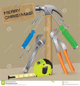 christmas tree from a tool royalty free stock photos image 17284718