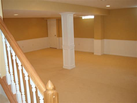 Finished Basement Ideas On A Budget I Like The Boxed In
