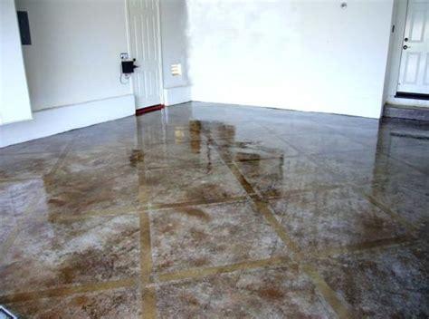 Garage Floor Paint Vs Stain by Concrete Floor Paint Designs Floor Concrete Stain Orange