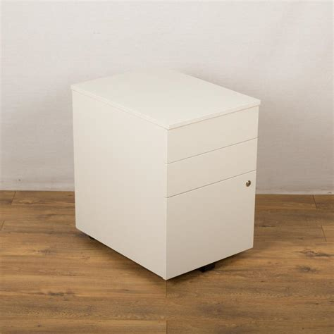 white pedestal desk with drawers senator white 3 drawer under desk pedestal