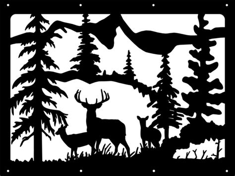 Scroll Saw Wildlife Scenery Patterns-patterns Kid