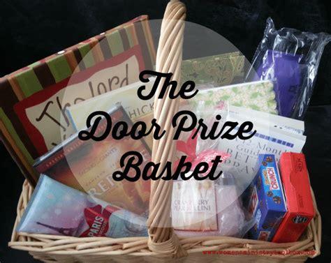 Baby Shower Door Prize Ideas - the door prize basket s ministry toolbox