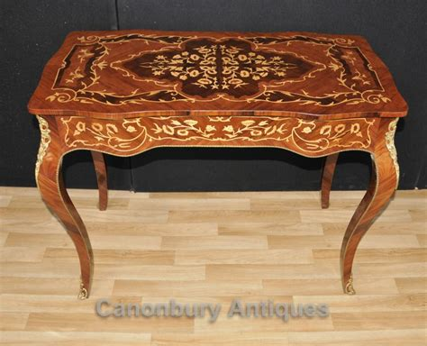 bureau marqueterie louis xvi desk bureau plat writing table marquetry