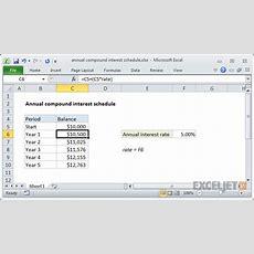 Compound Interest Table Calculator Brokeasshomecom
