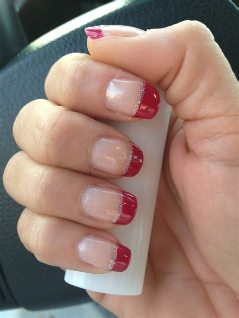 colored tips colored tip manicure 183 how to paint a tip
