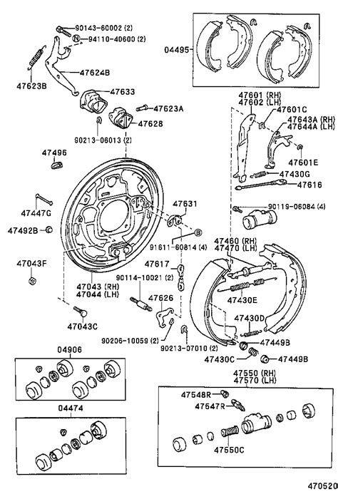 TOYOTA HILUX 4RUNNERRN105R-TRMRSQ - POWERTRAIN-CHASSIS