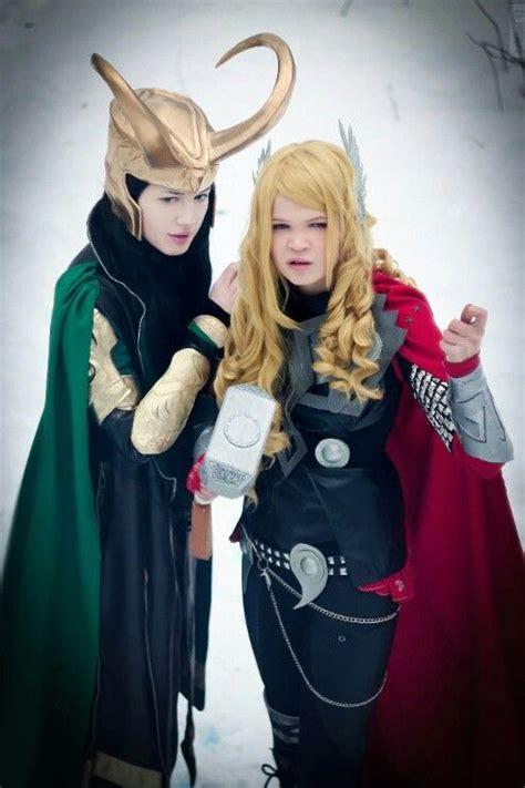 Thor And Loki Cosplay Costumes Fem Thor And Loki