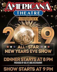 Americana Theatre New Years Eve Show Tickets - Branson MO - 2020 & 2021 Schedule