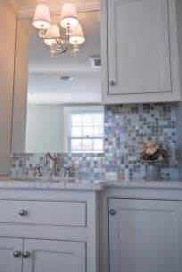 iridescent glass tiles contemporary bathroom hgtv