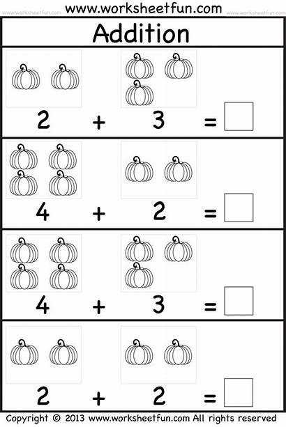Kindergarten Worksheets Addition Worksheetfun Math Practice Printable