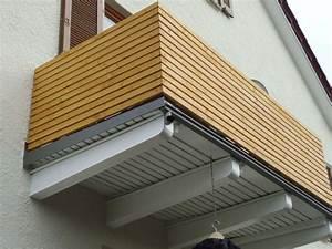 Balkonverkleidung Aus Holz : einzigartig balkonverkleidung holz haus design ideen ~ Lizthompson.info Haus und Dekorationen