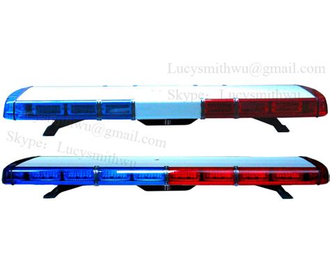 1w led warning emergency light bar led lightbar