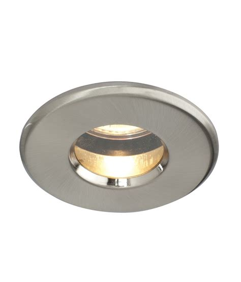 two ip65 mains bathroom downlight in three finishes
