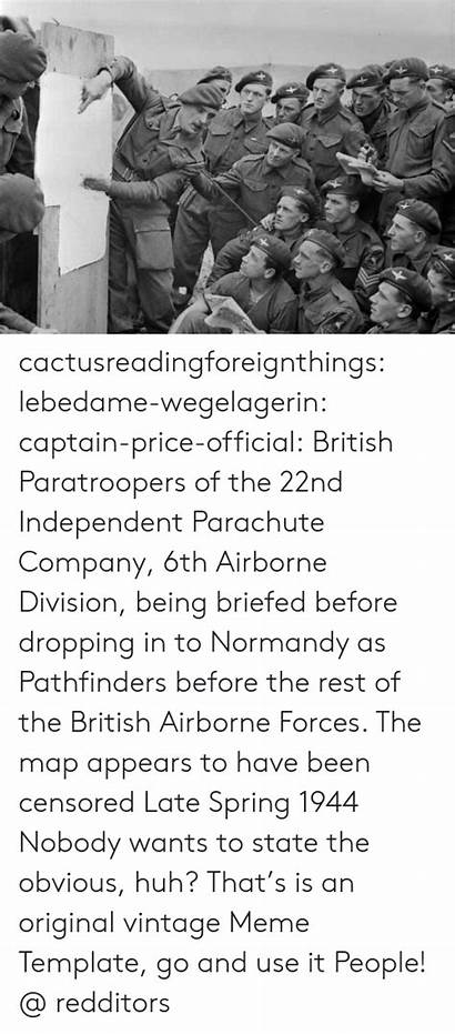 Independent Captain Parachute British 22nd Paratroopers Official