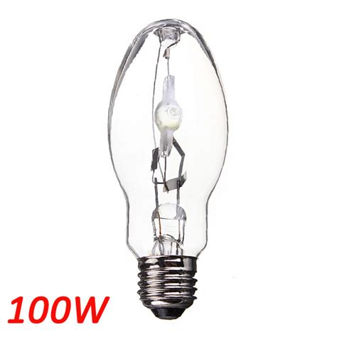 mh 100w metal halide ed17 e26 medium base light bulb l