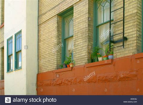 Exterior Window Sill Stock by Herbs On Window Sill Stock Photos Herbs On Window Sill