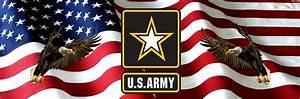 U.S. Army American Flag Eagles Rear Truck Window Graphic ...