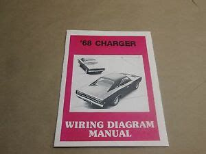 Dodge Charger Wiring Diagram Manuel New Ebay