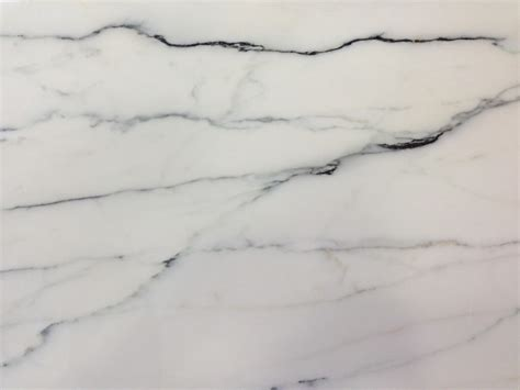 clear white marble with black veins homchick