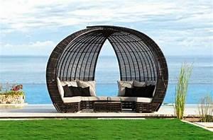 Loungemöbel Mit Dach : wunderbare loungem bel rattan f r drau en garten pinterest rattan ~ Sanjose-hotels-ca.com Haus und Dekorationen
