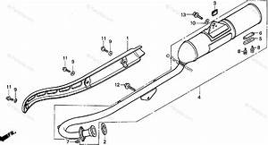 Honda Motorcycle 1999 Oem Parts Diagram For Muffler