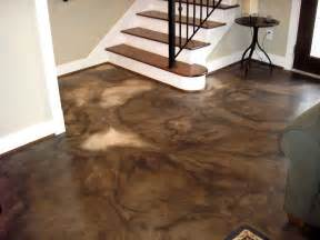 best 25 stained cement floors ideas on
