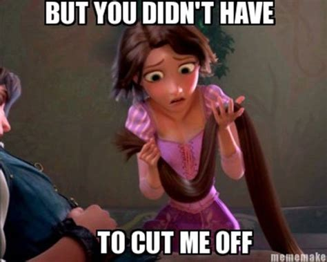 Tangled Memes - funny quotes about rapunzel quotesgram