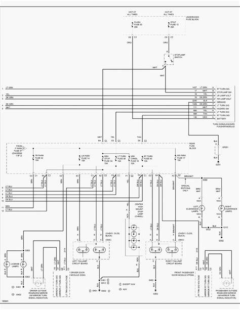 2004 Chevy Trailblazer Radio Wiring Diagram by 2006 Trailblazer Wiring Diagram Wiring Diagram