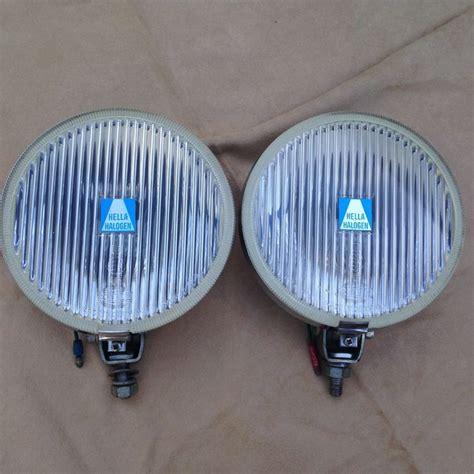 klassieke hella  mistlampen grote  cm lampen met chromen achterzijde catawiki