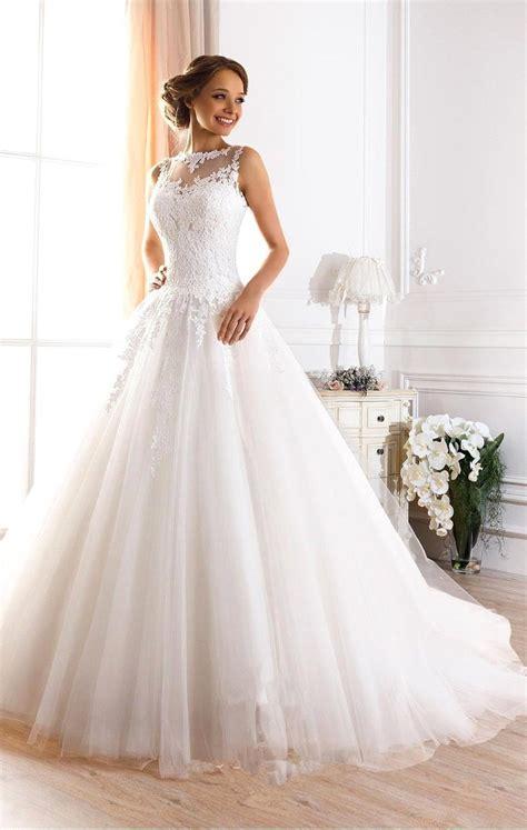backless wedding dress lace custom made vestidos de novia a line illusion neckline
