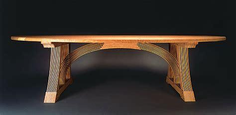 slat  rivet dining table finewoodworking