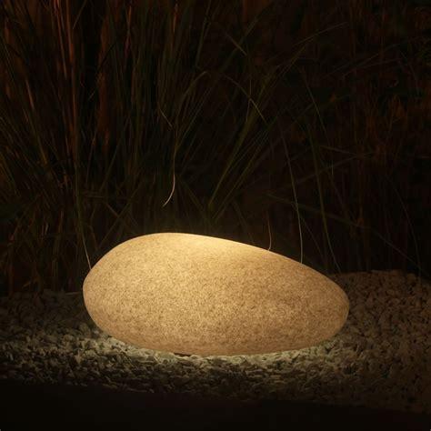 Flat 40  Remote Led Garden Stone Light, Multifunction