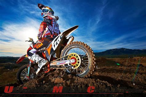red motocross red bull ktm wallpaper wallpapersafari