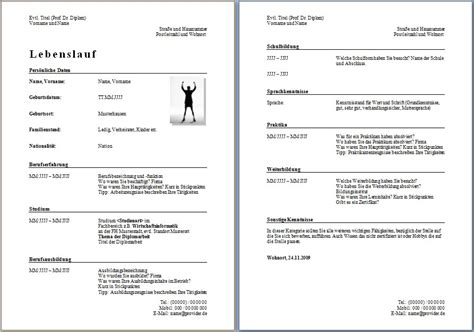 Lebenslauf Kostenlos by Lebenslauf Vorlage Kostenlos Dokument Blogs