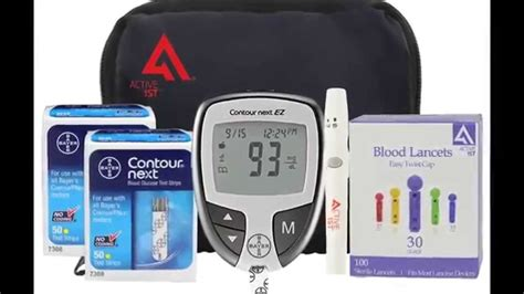 diabetes testing kit bayer contour test  blood