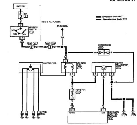 Wiring Harness Schematic For Ditributor Nissan Altima
