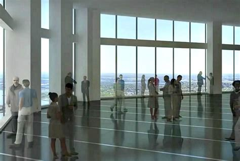 one wtc observation deck elevator it will cost 32 to visit one world trade center s