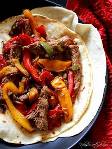 Steak And Gorgonzola Fajitas Recipe — Dishmaps