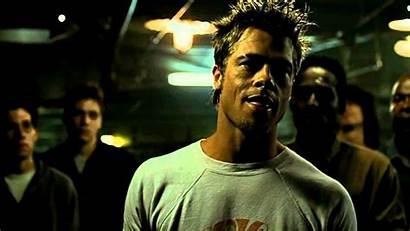 Fight Club Rules Tyler Durden Brad Pitt