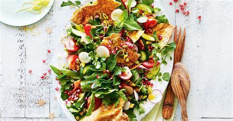 Fall back with our guest chef alejandra schrader fiesta pasta salad! Festive fattoush   Recipe   Creamy pasta salads, Salad, Recipes