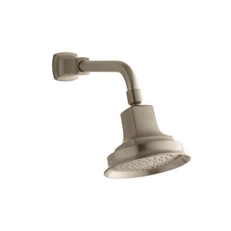 Kohler Brushed Bronze Bathroom Faucets by Kohler Margaux 1 Spray Showerhead In Vibrant Brushed