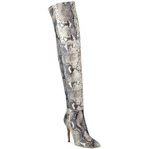 guess boots womens guess 39 s zonian the knee boots in python lyst