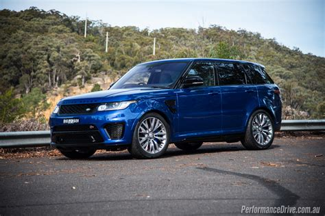 land rover 2016 range rover sport svr review land rover thornhill