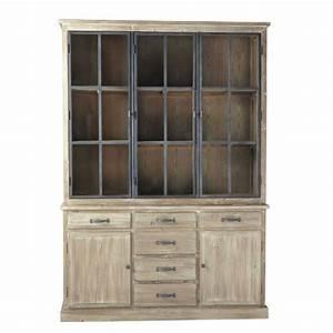 Cabinet Maison Du Monde : recycled wood china cabinet w 152cm copenhague maisons du monde ~ Teatrodelosmanantiales.com Idées de Décoration