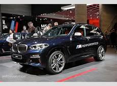 2018 BMW X3 M40i Marks the Start of a New Era in Frankfurt