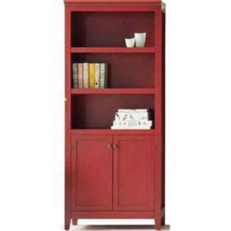 Threshold 5 Shelf Bookcase With Doors by Pinterest