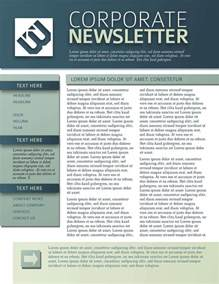 newsletter design 9 free business newsletters templates exles