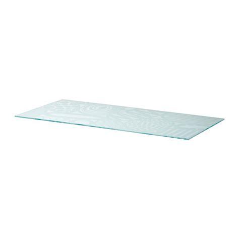 table bureau verre glasholm table top glass egg pattern ikea